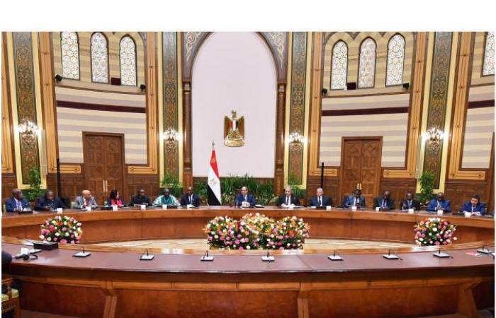 المصري اليوم - اخبار مصر- السيسي يؤكد أهمية دور المحاكم الدستورية في عملية التنمية في القارة موجز نيوز