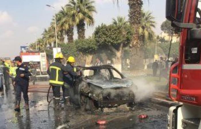 #اليوم السابع - #حوادث - احتراق 3 سيارات ملاكى بالمنصورة بسبب ماس كهربائى فى أحداهم