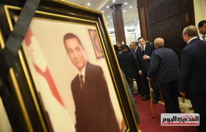المصري اليوم - اخبار مصر- وفد فلسطيني يقدم واجب العزاء في وفاة مبارك موجز نيوز