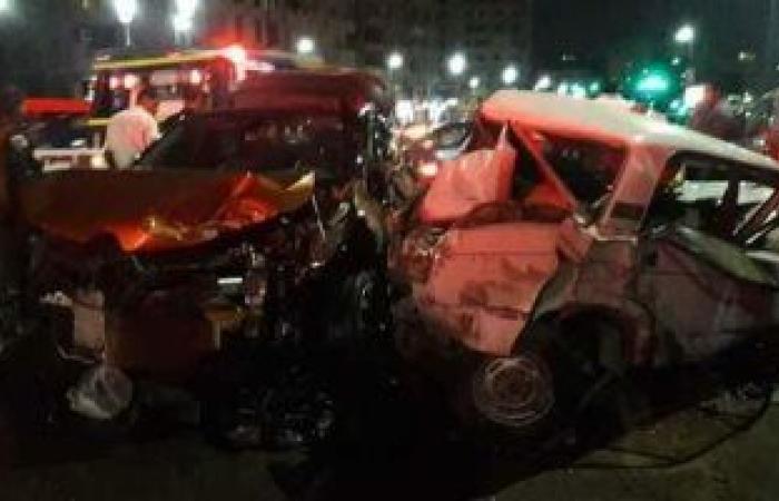 #اليوم السابع - #حوادث - مصرع شخصين إثر حادث تصادم دراجة بخارية وسيارة فى مدينة السلام