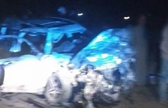 الوفد -الحوادث - مصرع 12 شخصا وإصابة 13 أخرين فى حادث تصادم بزفة عرس بالإسماعيلية موجز نيوز