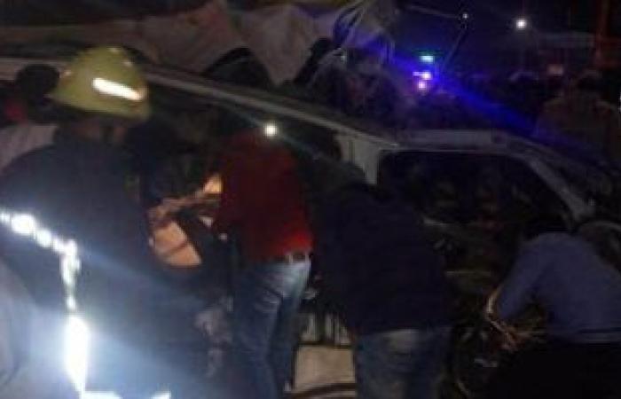 """#اليوم السابع - #حوادث - بالأسماء.. إصابة 16شخصا فى تصادم سيارتين ومقطورة بكوبرى """"المنايف"""" بالإسماعيلية"""