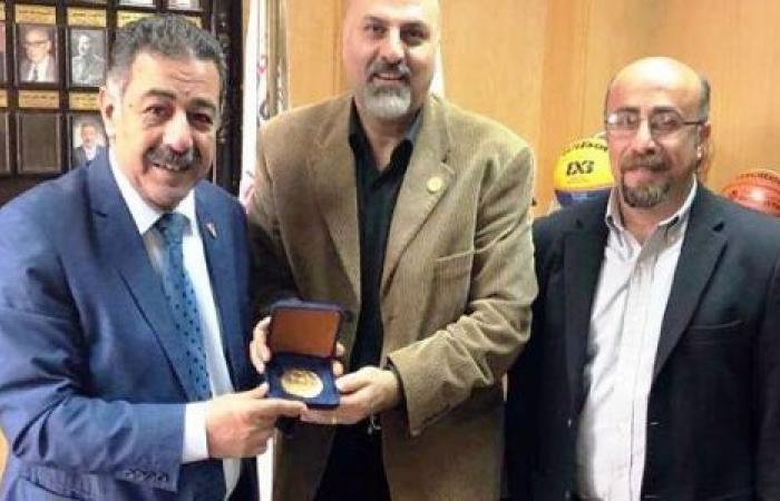 الوفد رياضة - تعاون مشترك وإشادة كبيرة من الأولمبياد الخاص للاتحاد المصري لكرة السلة موجز نيوز
