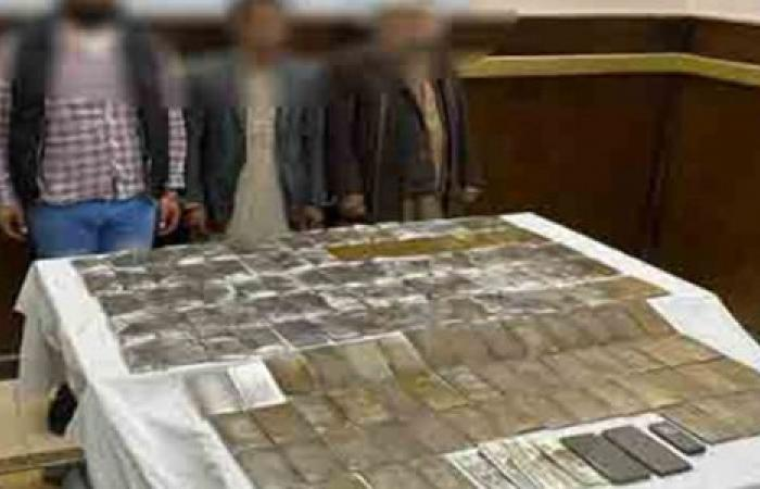 الوفد -الحوادث - النيابة تتخذ قرارات ضد المتهمين بحيازة 13 كيلو حشيش موجز نيوز