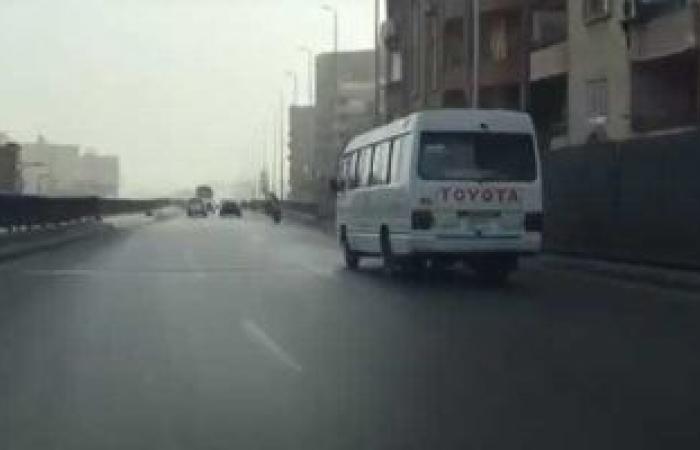 #اليوم السابع - #حوادث - فيديو.. انسياب مرورى فى حركة السيارات أعلى محور صفط اتجاه جامعة القاهرة