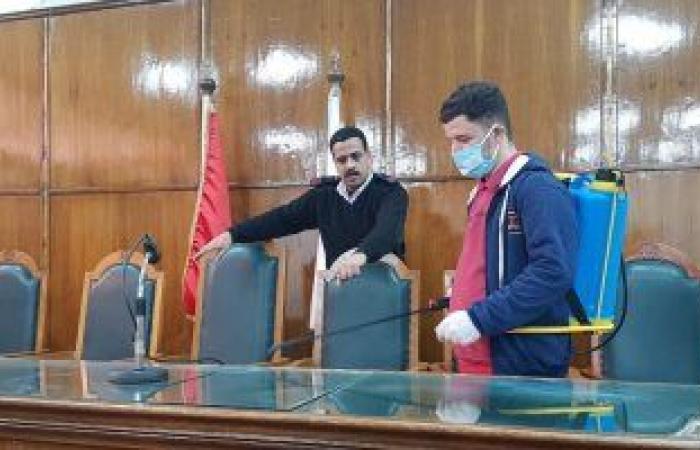 #اليوم السابع - #حوادث - مجلس الدولة يتخذ إجراءات وقائية ضد كورونا بتعقيم قاعات المحاكم
