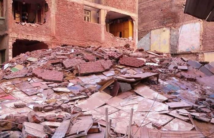 #المصري اليوم -#حوادث - انهيار عقار بشبرا الخيمة دون خسائر بشرية موجز نيوز