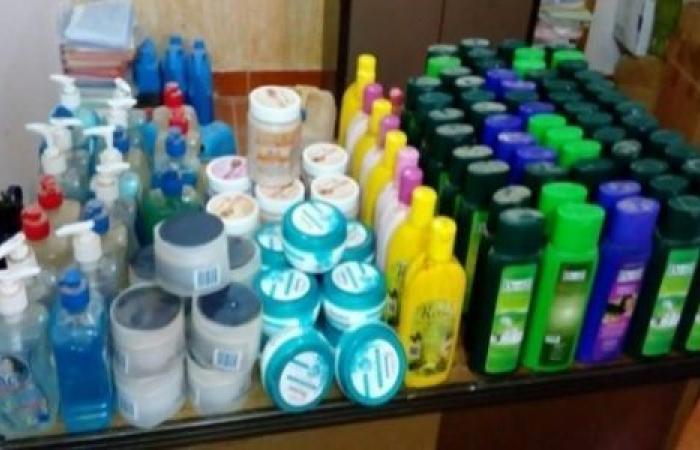 الوفد -الحوادث - حملة تموينية تضبط كميات من مستحضرات التجميل غير الصالحة في بني سويف موجز نيوز