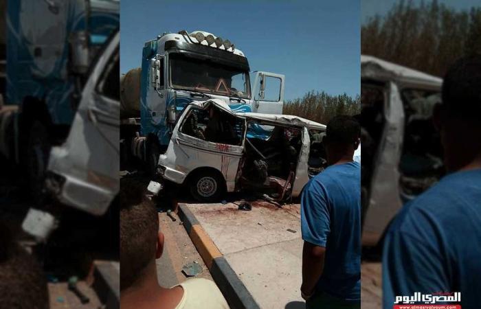 #المصري اليوم -#حوادث - مفاجأة في حادث الطريق الإقليمي.. السائق هرب والمقبوض عليه «مصاب» موجز نيوز