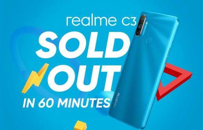 المصري اليوم - تكنولوجيا - نجاح ساحق لمبيعات realme C3 بعد دقائق من إطلاقه والجميع في انتظار realme 6i موجز نيوز