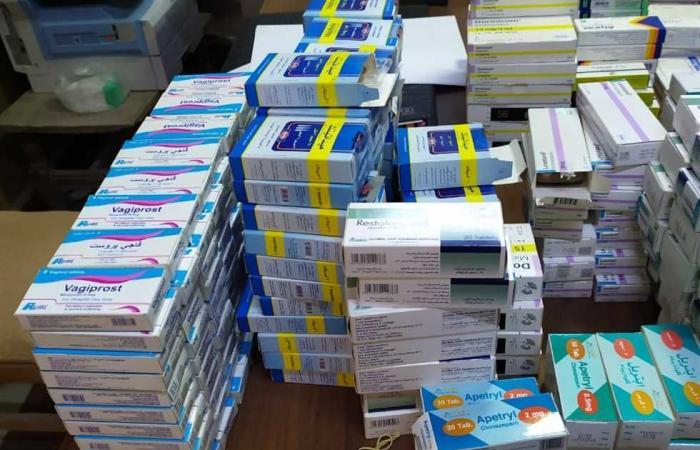#المصري اليوم -#حوادث - ضبط 3 مخازن أدوية غير مرخصة في المنيا (صور) موجز نيوز