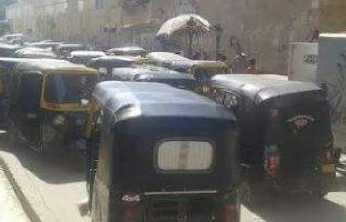 """#اليوم السابع - #حوادث - لصوص """"التكاتك"""" فى مدينة بدر: """"بنغير شكلها ونرجع نبيع الواحد ب6 آلاف جنيه"""""""