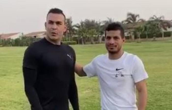 الوفد رياضة - شاهد.. هيثم فاروق يمدح طارق حامد بعد فيديو عصام الحضري موجز نيوز