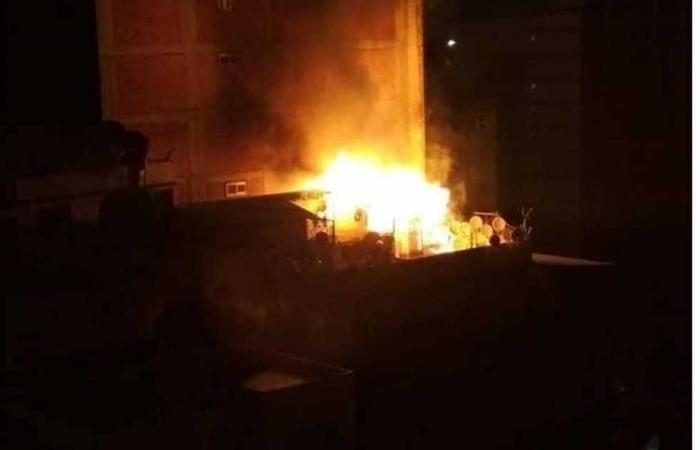 #المصري اليوم -#حوادث - إصابة 15 مواطنًا في حريق بقرية «الرجدية» بطنطا موجز نيوز