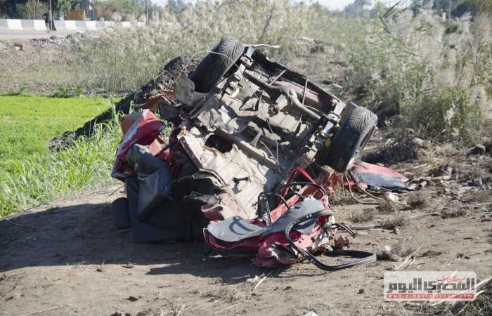 #المصري اليوم -#حوادث - إصابة 6 أشخاص نتيجة تصادم «تروسيكل» و«موتوسيكل» في البحيرة موجز نيوز