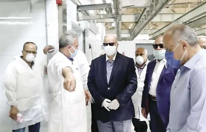 المصري اليوم - اخبار مصر- بتكلفة 115 مليون جنيه.. محافظ القاهرة يتفقد مجزر «15 مايو» موجز نيوز