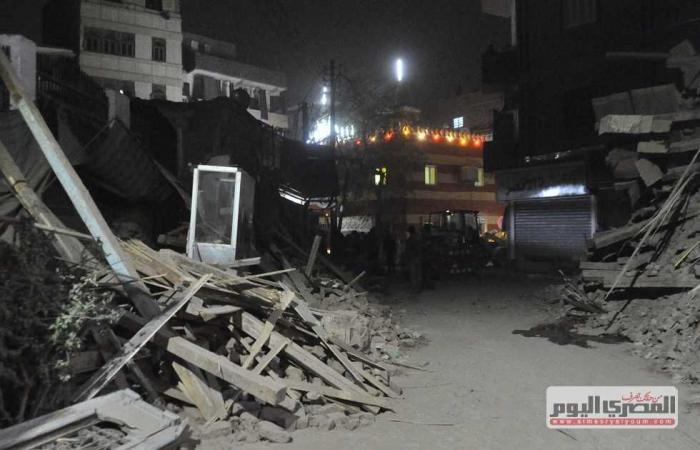 #المصري اليوم -#حوادث - انهيار عقار من 6 طوابق ومصرع شخص وإصابة آخر في باب الشعرية موجز نيوز