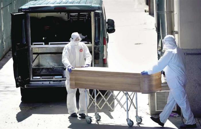 #المصري اليوم -#اخبار العالم - وفيات كورونا في إسبانيا أقل من 100 للمرة الأولى منذ شهرين موجز نيوز