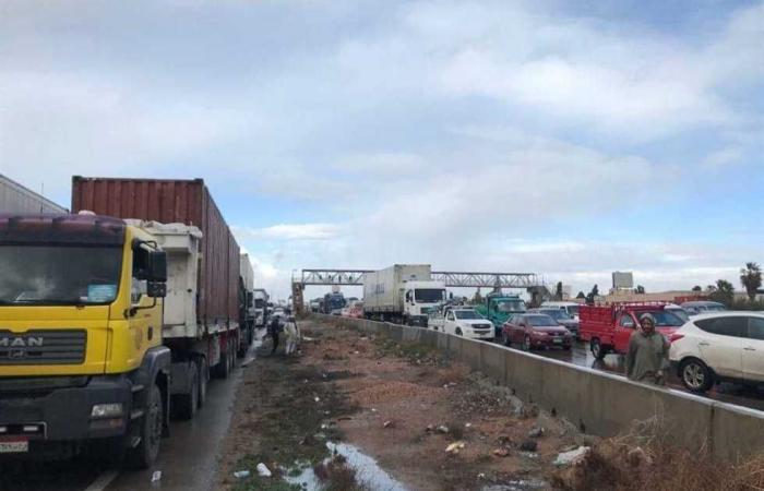 #المصري اليوم -#حوادث - إصابة 9 أشخاص في حادث مروري على صحراوي بني سويف موجز نيوز