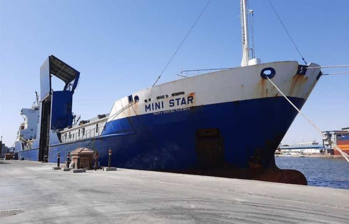 #المصري اليوم - مال - تداول ١١٩ ألف طن بضائع بميناء الإسكندرية (صور) موجز نيوز