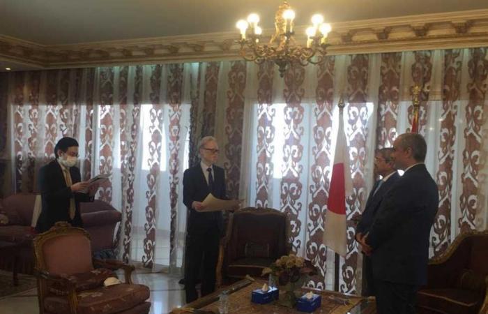 #المصري اليوم - مال - العربي يتسلم تكريم دولة اليابان: مستمرون في دعم العلاقات الثنائية بين البلدين موجز نيوز