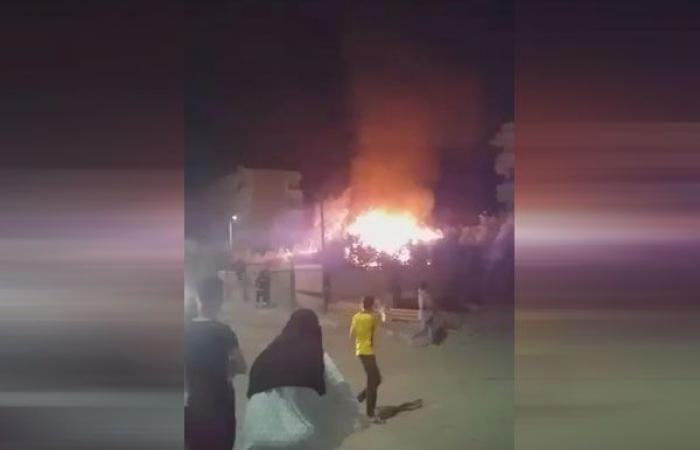الوفد -الحوادث - السيطرة على حريق بجوار محطة صرف صحي في الغردقة موجز نيوز