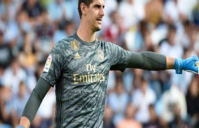الوفد رياضة - كورتوا : إنضمامي إلى ريـال مدريد كان حلماً موجز نيوز