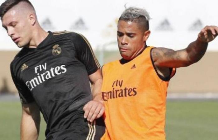 الوفد رياضة - يوفيتش ودياز يعودان لتدريبات ريال مدريد موجز نيوز
