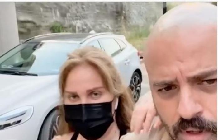 #اليوم السابع - #فن - نيكول سابا ويوسف الخال فى أول ظهور خارج المنزل منذ العزل الصحى.. فيديو