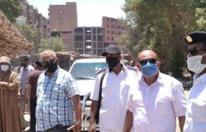#اليوم السابع - #حوادث - تحرير 20 محضر لمواطنين خالفوا قرار ارتداء الكمامة بكوم أمبو