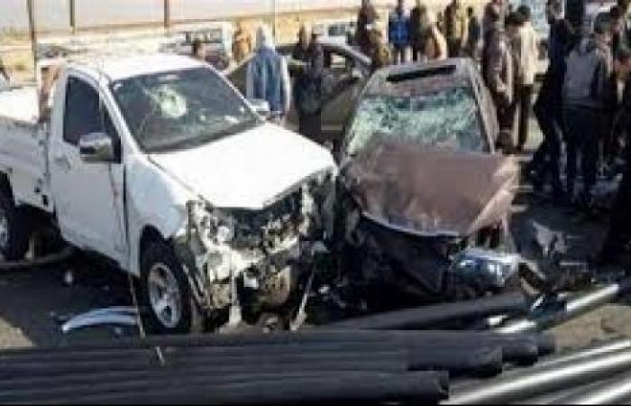 الوفد -الحوادث - مصرع وإصابة 3 أشخاص فى حادث تصادم على طريق الشرقى الصحراوى موجز نيوز