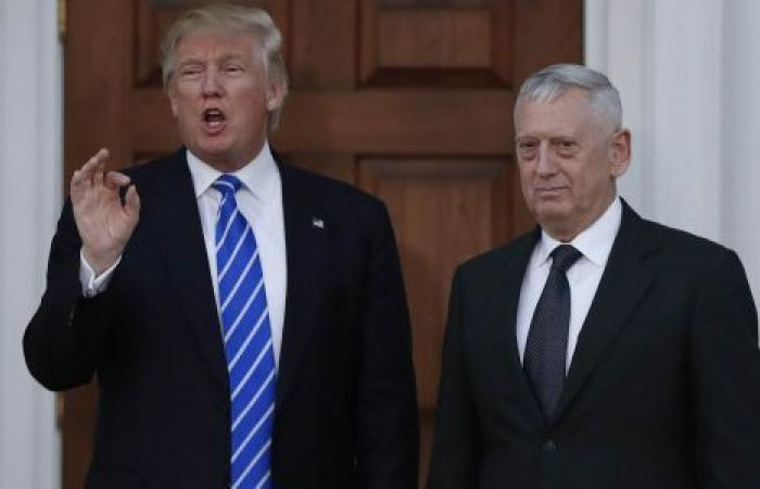 ترامب يرد على ماتيس: «جنرال مبالغ وفصلته من منصبه»