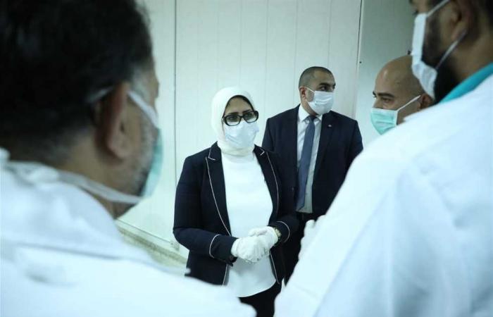 المصري اليوم - اخبار مصر- وزيرة الصحة في الإسكندرية لمتابعة المستشفيات المخصصة لعلاج مصابي كورونا موجز نيوز