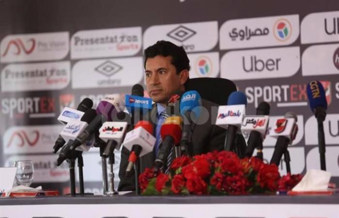 زيارة مفاجئة.. أشرف صبحي يطمئن على تطبيق الاجراءات الاحترازية داخل الأهلي (صور)
