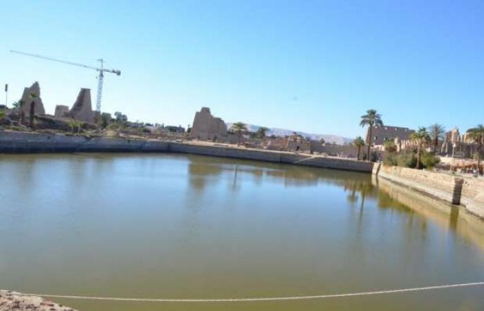 اخبار السياسه بمناسبة إعادة افتتاح معبد الكرنك.. 10 معلومات عن البحيرة المقدسة داخله