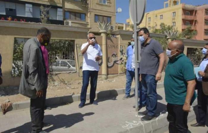 المصري اليوم - اخبار مصر- محافظ الجيزة يتابع مشروعات تطوير المنصورية والمريوطية وترسا (صور) موجز نيوز