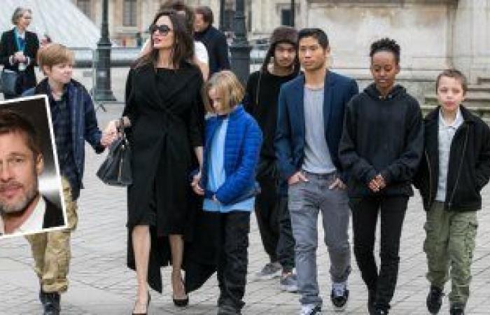 #اليوم السابع - #فن - هل يخطط براد بيت وإنجلينا جولي لقضاء إجازة عائلية معًا؟