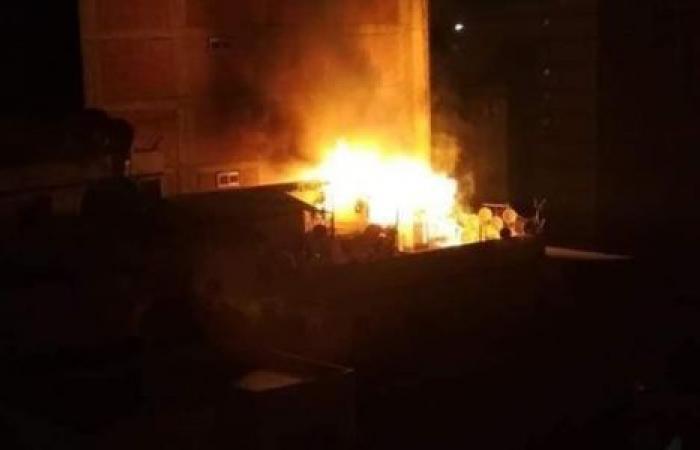 الوفد -الحوادث - في الفجر.. حريق يلتهم مسجدا بالصف موجز نيوز