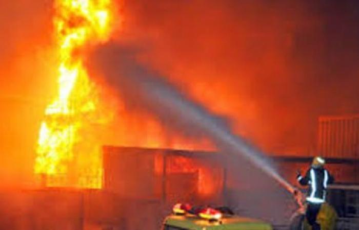 الوفد -الحوادث - السيطرة على حريق داخل مسجد فى سوهاج موجز نيوز