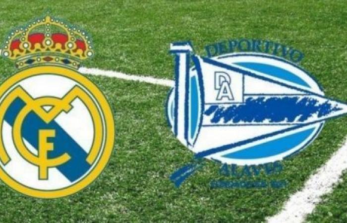 الوفد رياضة - موعد مباراة ريال مدريد وألافيس والقنوات الناقلة موجز نيوز