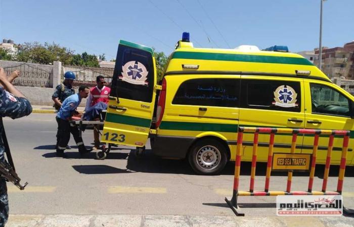 #المصري اليوم -#حوادث - بالأسماء.. إصابة 9 أشخاص في حادثي انقلاب سيارتين بالغردقة وسفاجا موجز نيوز