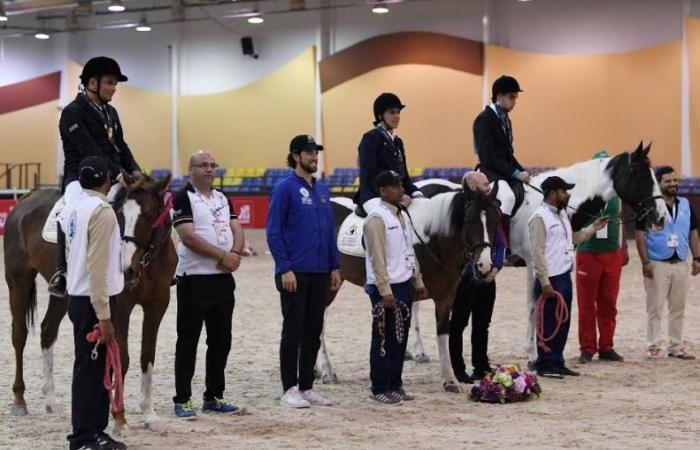 """الوفد رياضة - 7 دول عربية فى دورة فروسية الأولمبياد الخاص """"بتقنية zoom"""" موجز نيوز"""