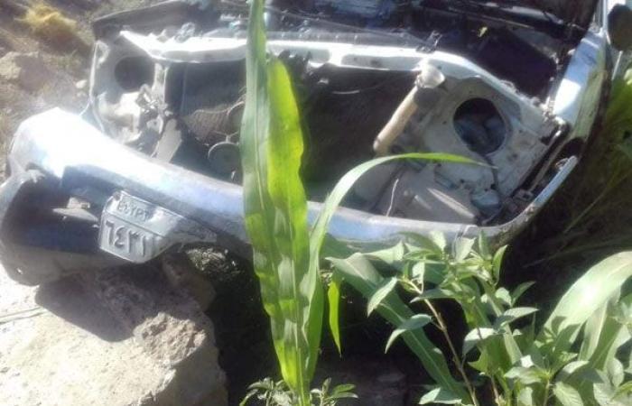 الوفد -الحوادث - إصابة شخصين في تصادم سيارتين بأسوان موجز نيوز