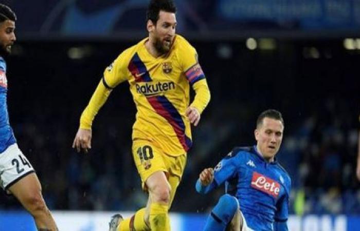 الوفد رياضة - موعد مباراة برشلونة ونابولي في دوري الأبطال والقنوات الناقلة موجز نيوز