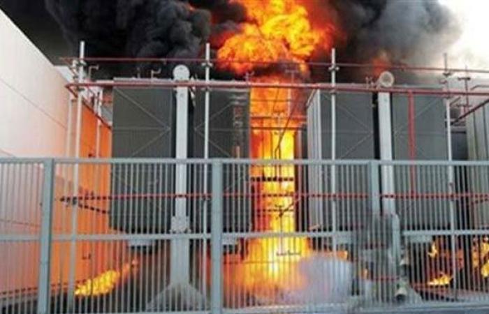 الوفد -الحوادث - التحرى حول حريق محول كهرباء فى الحوامدية موجز نيوز