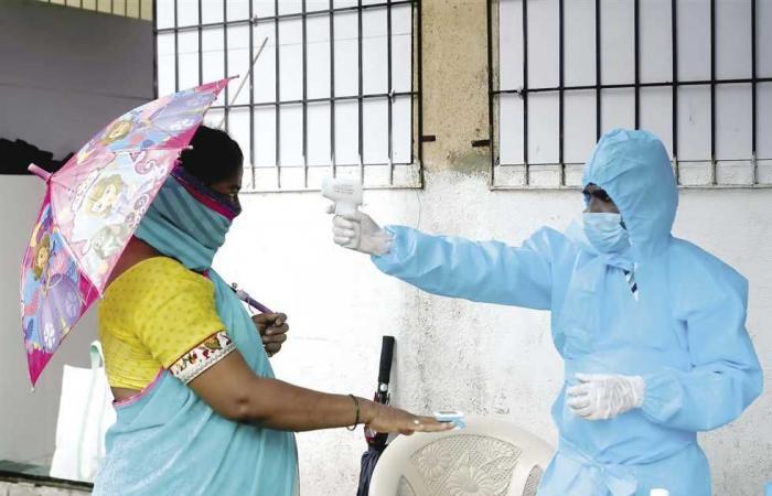 #المصري اليوم -#اخبار العالم - فيروس كورونا يستشري في الهند.. 50 ألف إصابة في 24 ساعة موجز نيوز