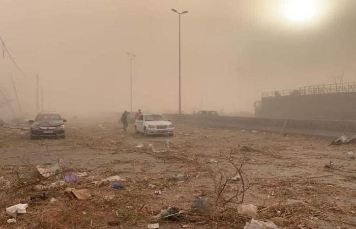 بيروت تبكي تحت النار.. انفجارٌ هزّ لبنان وسمعه «الجيران» (لقطات مؤلمة)