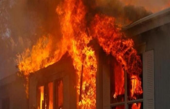 الوفد -الحوادث - اندلاع حريق هائل بمنزل في أسوان موجز نيوز