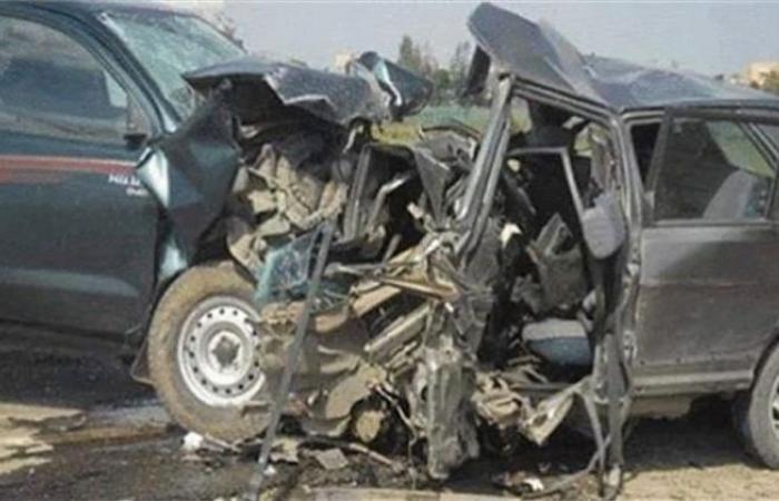 الوفد -الحوادث - إصابة 17 راكبا في حادث تصادم بالمنوفية موجز نيوز