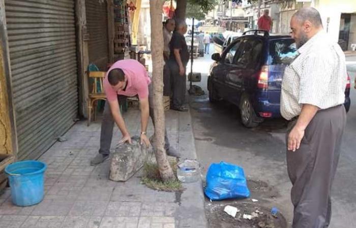 المصري اليوم - اخبار مصر- حمله لإزاله الإشغالات وحواجز السيارات غرب الإسكندرية موجز نيوز